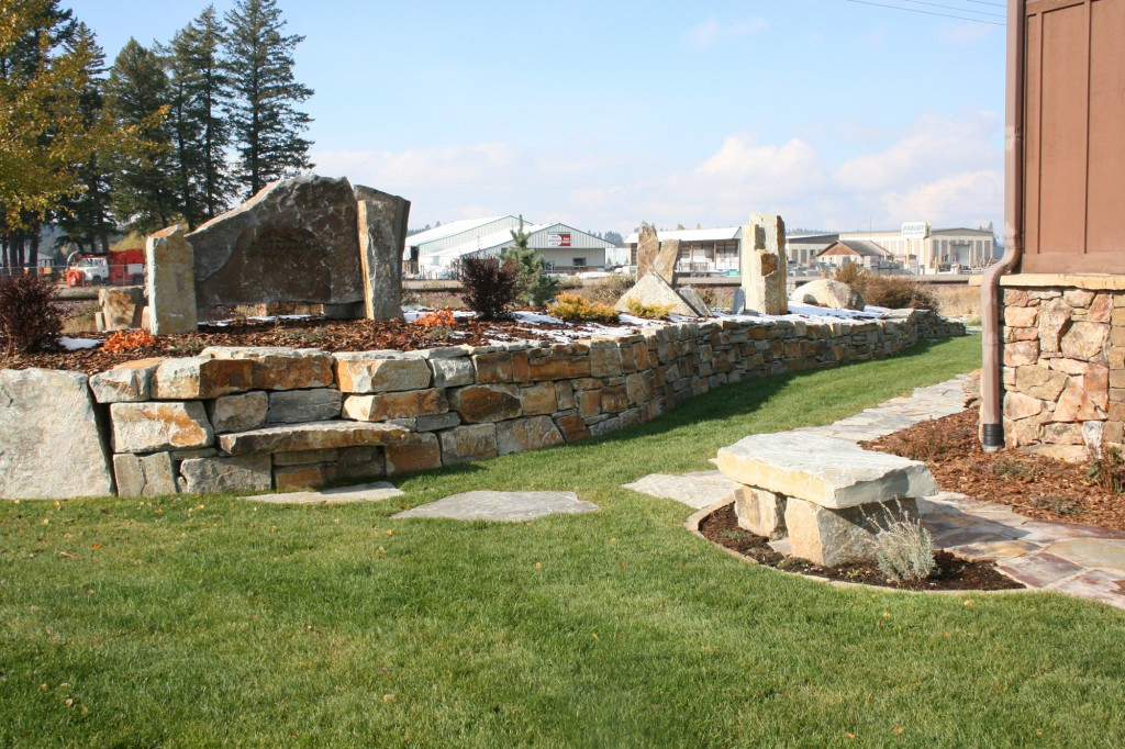 Montana Rockworks Showroom Walkway