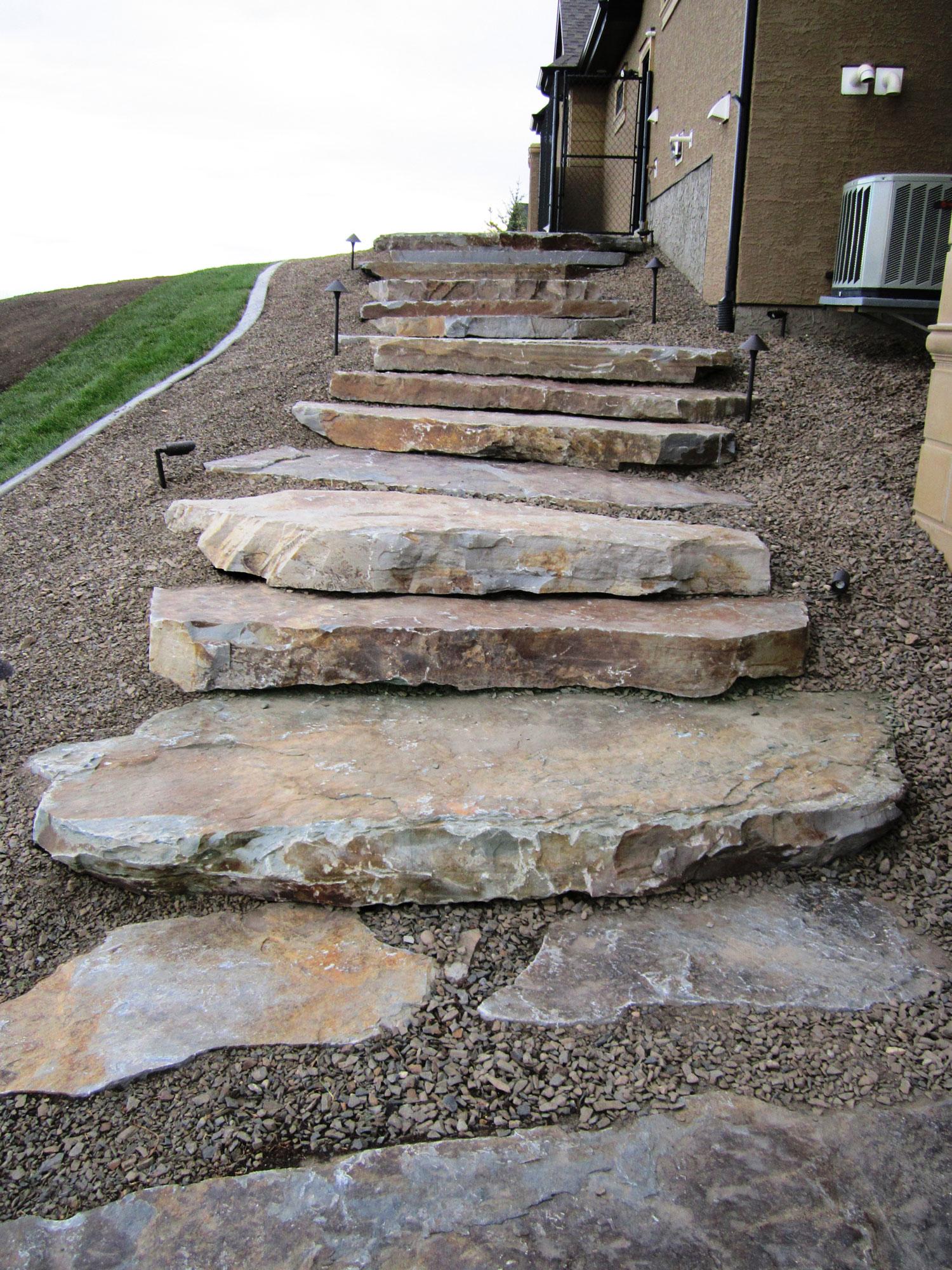 Moose Mountain Steps Montana Rockworks