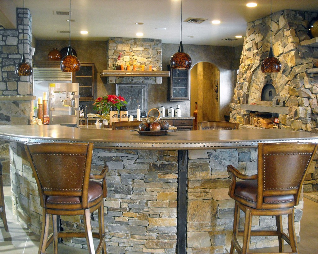 Montana Rockworks Showroom Kitchen