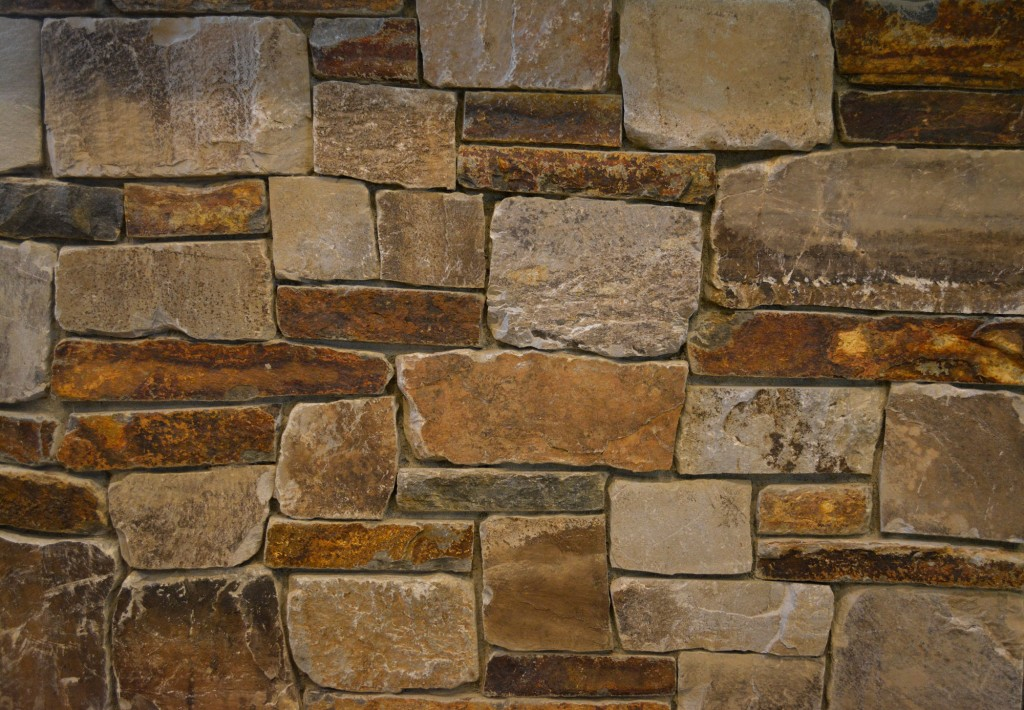 Autumn Flame and Castle Rock Ledge Thin Veneer