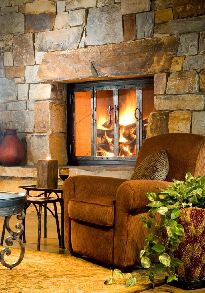 Montana Rockworks Showroom Fireplace