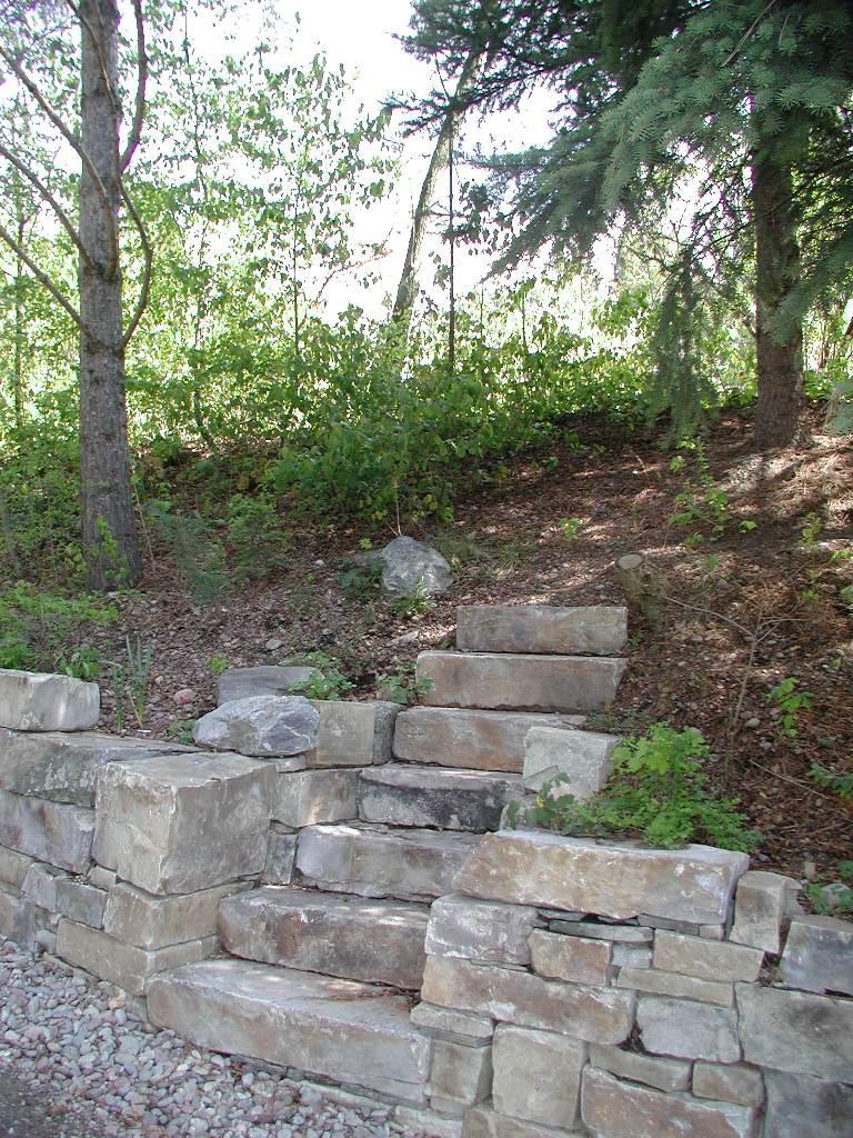 Castle Rock Drystack and Steps